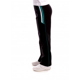 Pantalon Sport Activity Negru+Smarald