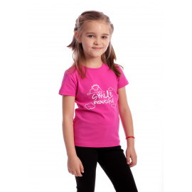 Tricou Happy Smile Kids Ciclam
