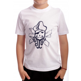 Tricou Black Pirate Alb
