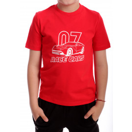 Tricou Race Cars Rosu