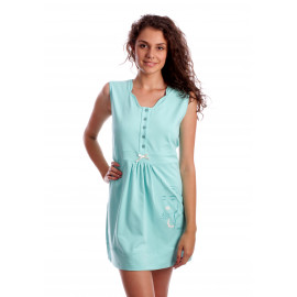 Camasa noapte Stylish Lady Aqua