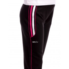 Pantalon Sport Activity Negru+Ciclam